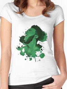Jaylen Brown Women's Fitted Scoop T-Shirt