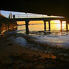Black Rock Jetty Sunset - Victoria  Australia by bayside2