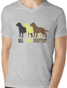 All Labs Matter Original by TeeCreations 2016 Mens V-Neck T-Shirt