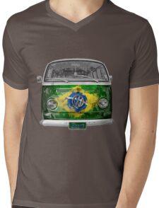 VW BRAZIL Mens V-Neck T-Shirt