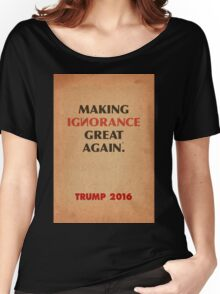 Trump Makings 3. Women's Relaxed Fit T-Shirt
