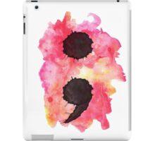 Project Semi Colon iPad Case/Skin