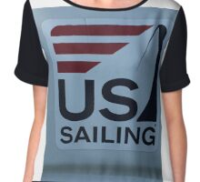 Sailing Theme If you like, please purchase, try a cell phone cover thanks Chiffon Top