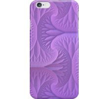 Lavender Three Dimensional Fractal Pattern iPhone Case/Skin