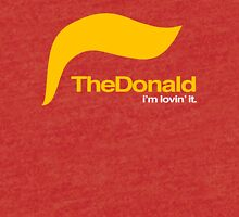 The Donald – I'm lovin' it Tri-blend T-Shirt