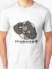 #1  HARAMBE CARTOON Unisex T-Shirt