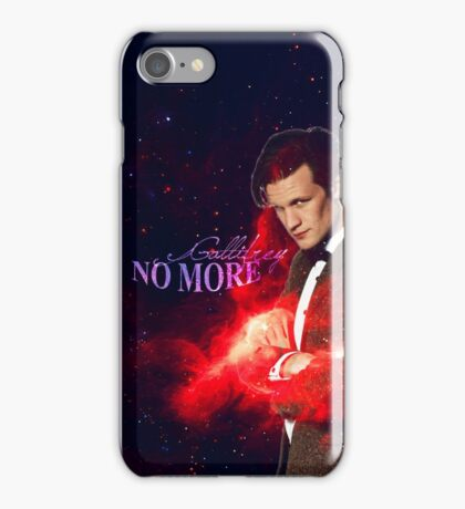 Gallifrey no more iPhone Case/Skin