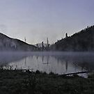 Yellowstone Morning #3 by Ken McElroy