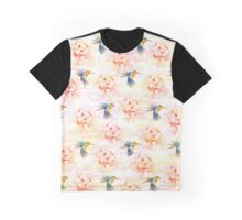 Colibri pattern Graphic T-Shirt