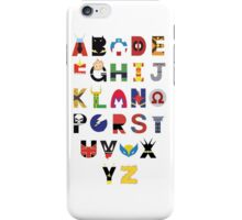 Super Hero Alphabet iPhone Case/Skin