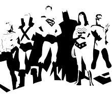 justice league by kvasir