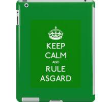 Keep calm and rule Asgard iPad Case/Skin