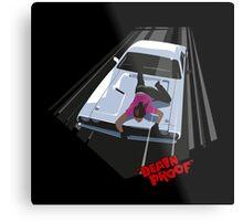 -TARANTINO- Death Proof Scene Metal Print