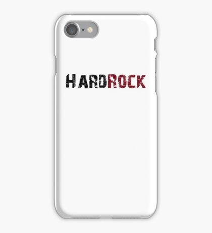 Hard Rock iPhone Case/Skin