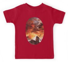 Windmill and the Sunset Sky Kids Tee