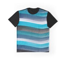 Blue lines Graphic T-Shirt