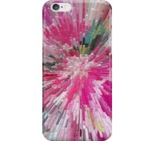 Abstract flower pattern 3 iPhone Case/Skin
