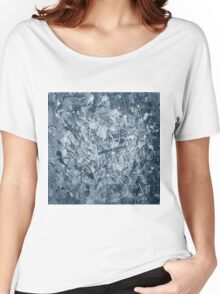 Abstract black painting Women's Relaxed Fit T-Shirt