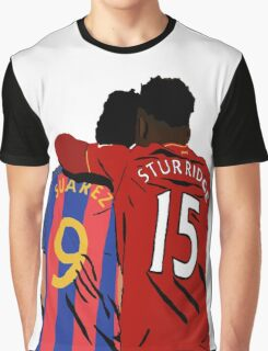 Suarez and Sturridge - Reunited Graphic T-Shirt