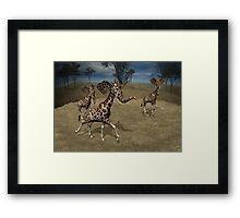 Girphants Framed Print