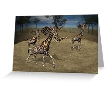 Girphants Greeting Card