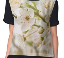 spring flowers in sunshine Chiffon Top