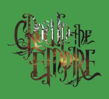 "Crown The Empire ""The Fallout"" Logo One Piece - Short Sleeve"