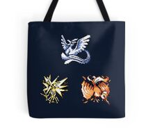 The Legendary Birds - Pokemon Red & Blue Tote Bag