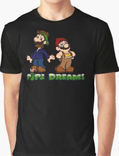 Mario and Luigi - Pipe Dreams Graphic T-Shirt