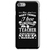 Teacher mom iPhone Case/Skin