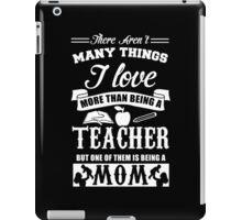 Teacher mom iPad Case/Skin