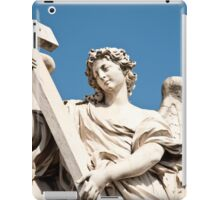 Angel with the Cross iPad Case/Skin
