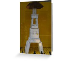 Eiffel Power Greeting Card