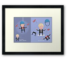Lets Dress...Boris Johnson No.1 Framed Print
