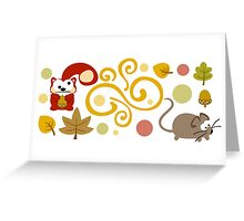 Autumn Is Comming Greeting Card