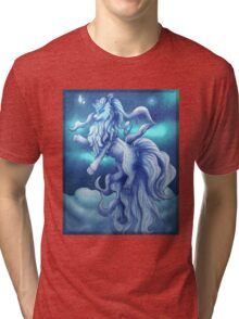Pokemon Alola Form Ninetales Tri-blend T-Shirt