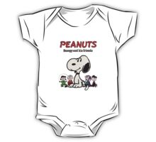 Snoopy And Friends One Piece - Short Sleeve