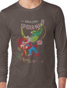 Spider-Man vs Vulture & Kraven The Hunter Long Sleeve T-Shirt