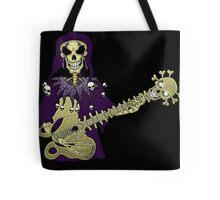 Dead Guitar Player Tote Bag