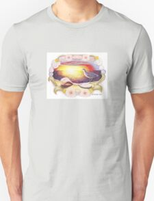Sunset Seashell Unisex T-Shirt