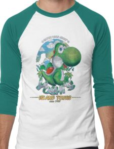 YOSHI'S ISLAND TOURS ! Men's Baseball ¾ T-Shirt