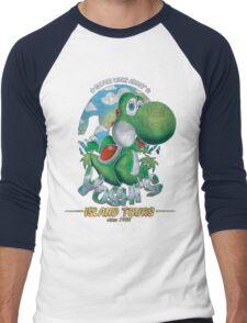 YOSHI'S ISLAND TOURS ! Men's Baseball ¾ T-Shirt