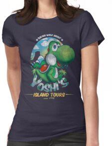 YOSHI'S ISLAND TOURS ! Womens Fitted T-Shirt
