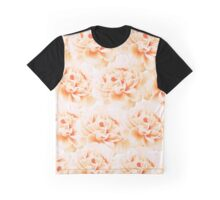 Peonies pattern Graphic T-Shirt