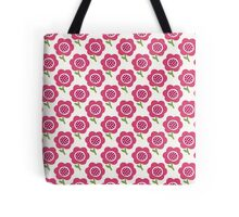 Simple baby pattern. Cute seamless wallpaper. Doodle little flower background. Tote Bag