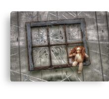 Stamp Out Domestic Violence Canvas Print