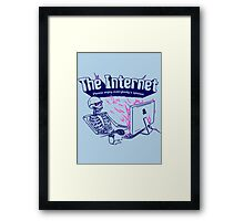 The Internet Framed Print