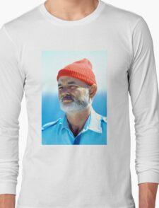 Bill Murray as Steve Zissou  Long Sleeve T-Shirt