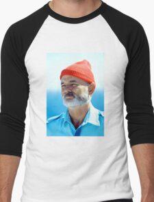 Bill Murray as Steve Zissou  Men's Baseball ¾ T-Shirt