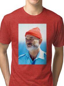 Bill Murray as Steve Zissou  Tri-blend T-Shirt